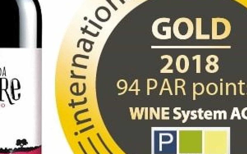 """Courelas da Torre organic wine wins gold"""