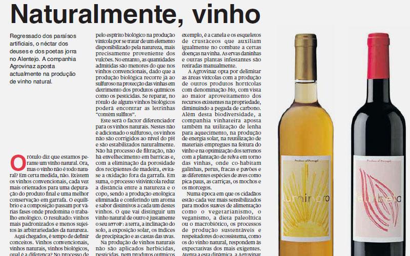 Courelas da Torre highlighted by the section Fugas of Público newspaper